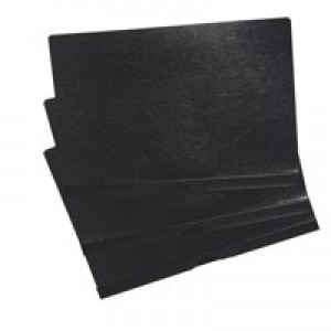 5 Star Clip Folder 6mm Spine for 60 Sheets A4 Black [Pack 25]