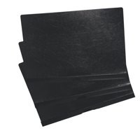 5 Star Premier Clip Folder 6mm Black