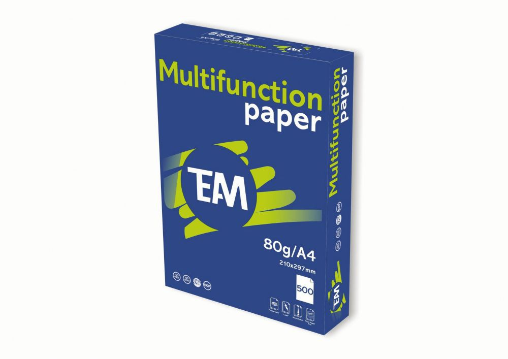 Team Multifunction Copier Paper A4 210 x 297mm 80Gm2 Packed 500