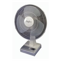 Image for 5 Star Facilities Desk Fan Oscillating Tilt and Lock 48.5Db 3 Speed H600mm Dia.406mm