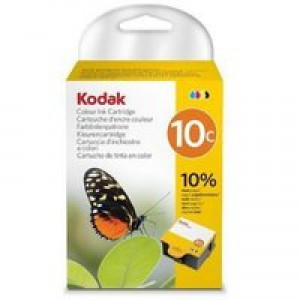 Kodak 10C Inkjet Cartridge Colour Ref 3949930