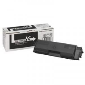 Kyocera TK580K Toner Page Life 3500pp Black Code 1T02KT0NL0