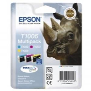 Epson Rhino DURABrite Ultra Ink Multipack 3-colours T1006