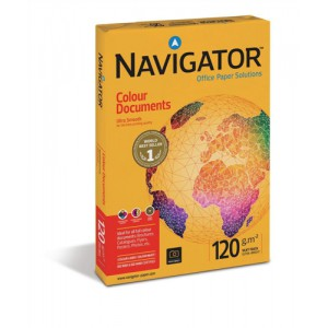 Navigator Colour Documents Paper Ultra Smooth 120gsm 500 Sheets A3 White Code NAV1030