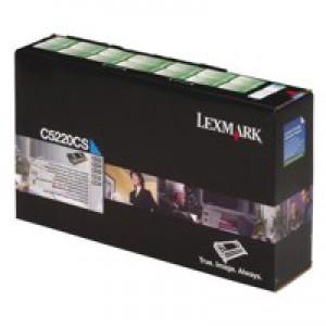 Lexmark C510 Standard Yield Toner Cartridge Cyan 20K0500