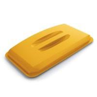 Durable Durabin Lid for 60 Litre Bin Yellow 1800497030