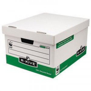 Fellowes Panda Storage Box Foolscap W370xD440xH225mm Ref 00791 [Pack 10]