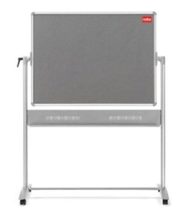 Nobo Mobile Combination Whiteboard Easel Magnetic Drywipe and Notice W1200xH900mm Board Ref 1901043