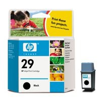 Hewlett Packard [HP] No. 29 Inkjet Cartridge Page Life 650pp 40ml Black Ref 51629AE