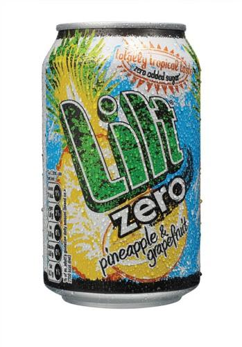 Lilt Zero Diet Soft Drink Can 330ml Pack 24