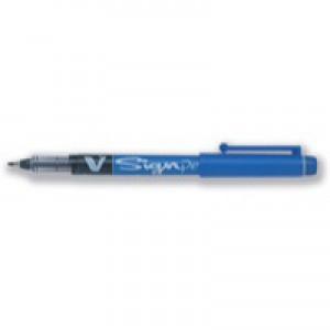 Pilot V Sign Pen Black SWVSP01