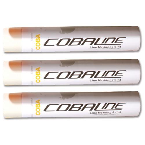 Cobaline Marking Spray CFC-free Fast-dry 750ml White Code QLL00013P