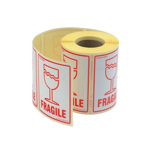 Adpac Parcel Label Fragile SG108FR