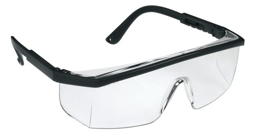 KSP Wraparound Visispec Spectacles Polycarbonate Clear Lens Ref ASA240-021-100