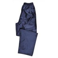 Image for Portwest Atlantic Rain Trousers Side-pockets Polyester Navy Extra Large Ref S441NAVYXLGE