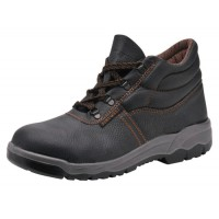Image for Portwest S1P D Ring Chukka Boots Steel Toecap & Midsole Leather Slip-resistant Size 9 Ref FW10SIZE9