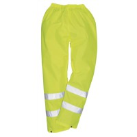 Image for Portwest High Visibility Trousers EN343 Class 3 Protection Medium Yellow Ref S480MED