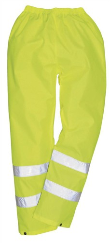 Portwest High Visibility Trousers EN343 Class 3 Protection Medium Yellow Ref S480MED