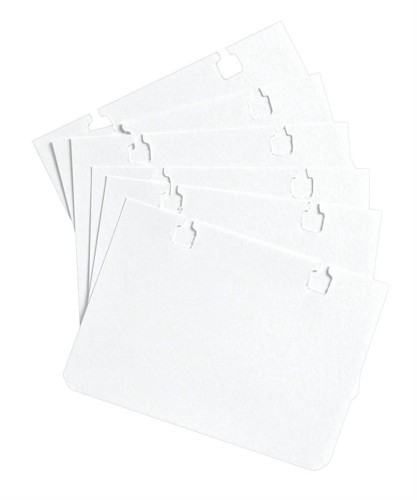 Refill Cards for Indexing Units A7 White [Pack 100]