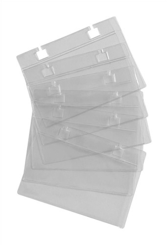 Business Card Sleeves for 105x74mm Refill Cards [Pack 50]