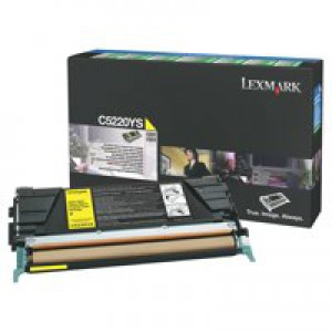 Lexmark C520N Return Program Laser Toner Cartridge Yellow Code C5220YS