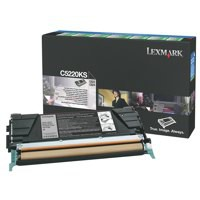 Lexmark Laser Toner Cartridge Return Program Page Life 4000pp Black Ref C5220KS