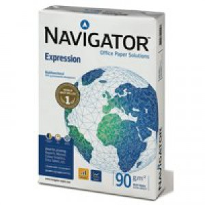 Navigator Inkjet Paper Extra Smooth Uncoated 90gsm 500 Sheets Per Ream A4 White Code NAV0321