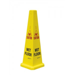 Collector Caution Cone for Wet Floors Stackable Height 900mm Code JCP121-200-200