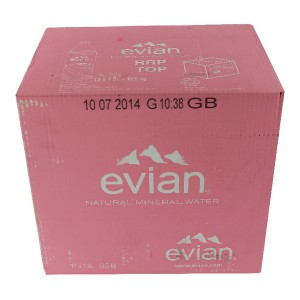 Evian Natural Mineral Water 1.5 litre Plastic Bottle Code E20009