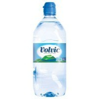 Volvic Go Natural Mineral Water Bottle Plastic with Sports Cap 1 Litre