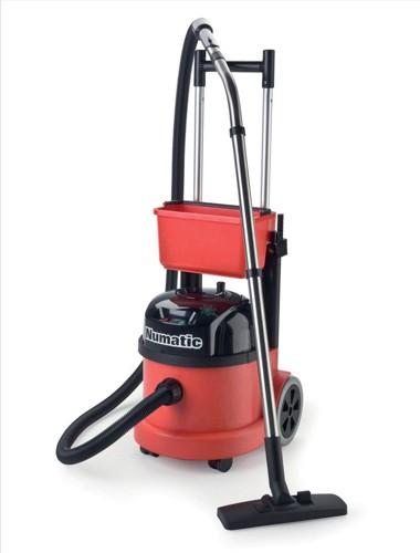 Numatic Pro Vacuum Cleaner Twinflo Hepaflo-filtration Retractable Handle Ref PVT390
