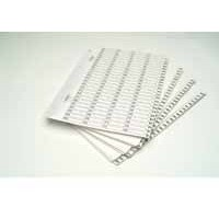 Concord Classic Index A4 301-400 White Board with Clear Mylar Tabs 10201/CS102