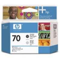 Hewlett Packard No70 Print Head Photo Black Light Grey C9407A