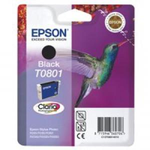 Epson Hummingbird Claria Photographic Ink Black T0801