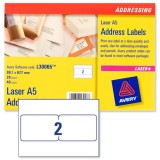 Avery A5 Laser Label L30065-20