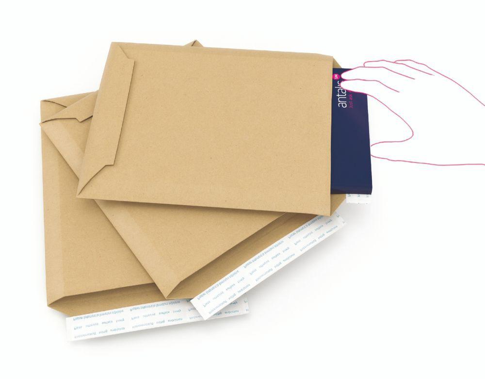 Rigikraft Plus 2 200 x 288mm Rigid Corrugated Envelope 100/Pack