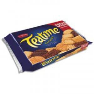 Crawfords Teatime Varieties Biscuits Assorted 8 Types 275g Ref A07549