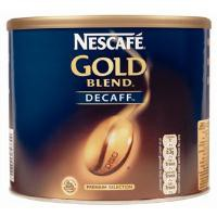Nescafe Gold Blend Instant Coffee Decaffeinated Tin 500g Ref 5200230