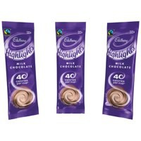 Cadbury Chocolate High Lights Fairtrade Hot Chocolate Powder Sachets Low Calorie Ref A07590 [Pack 30]