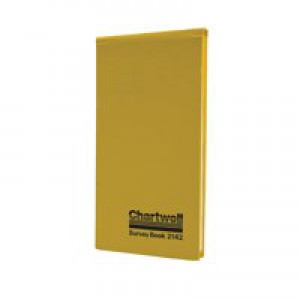 Chartwell Survey Book Dimension Weather Resistant 80 Leaf 106x205mm Code 2142