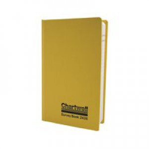 Chartwell Survey Book Level Collimation Weather Resistant Side Opening 80 Leaf 192x120mm Code 2426