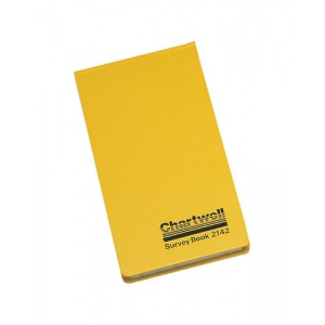 Chartwell Survey Book Field Weather Resistant Top Opening 80 Leaf 106x165mm Code 2206