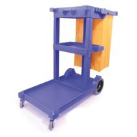 Bentley Mobile Janitorial Trolley Multifunctional Supplied Unassembled W460xD1140xH970mm Ref SPC/JT01