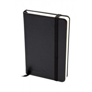 Silvine Executive Soft Feel A5 Notebook Black