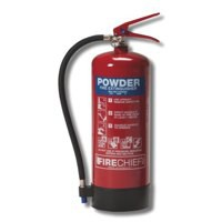 IVG Firechief Fire Extinguisher Refillable Dry Powder for Class A and B and C 1Kg Ref IVGS1.0KG