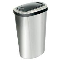 Press Top Bin with Inner Liner 40 Litre Stainless Steel