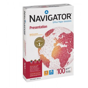 Navigator Presentation Paper High Quality 100gsm A4 White Ref NPR1000032 [500 Sheets]