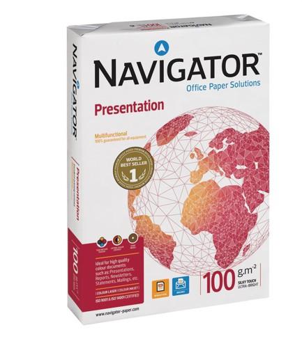 Navigator Presentation Paper High Quality 100gsm A4 White Ref NPR1000032 [500 Sheets]
