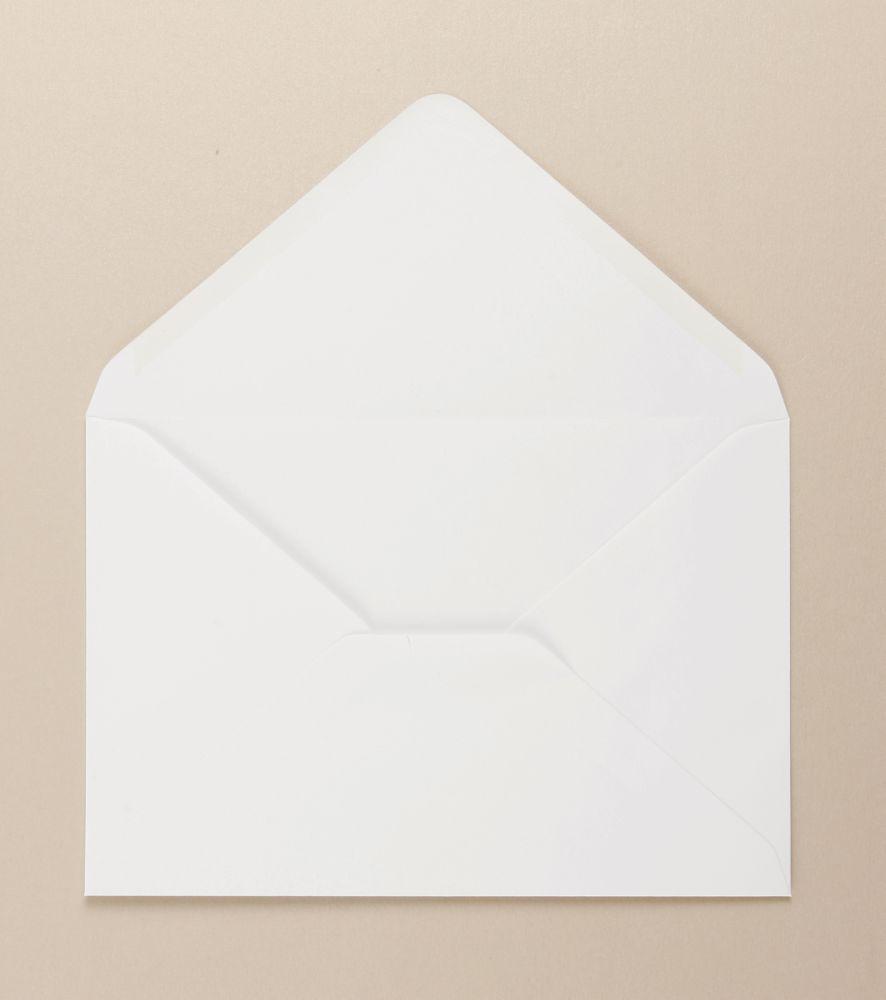 White Greeting Card Envelope Diamond Flap         137 x 197mm 100gsm Gummed Bx 500