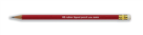 5 Star HB Rubber Tipped Pencil